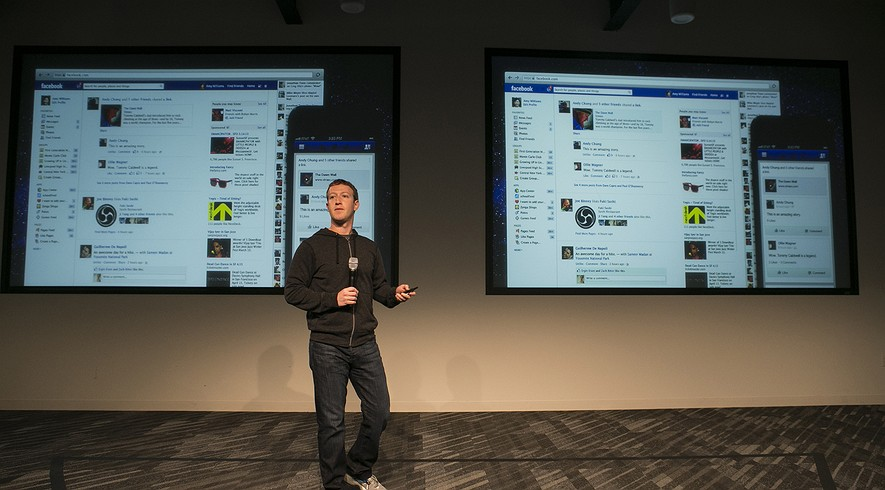 Facebook's Mark Zuckerberg at a Facebook event earlier this year. He announced this week an initiative to try to cut the costs to bring Internet access to the billions of people globally who do not have it.