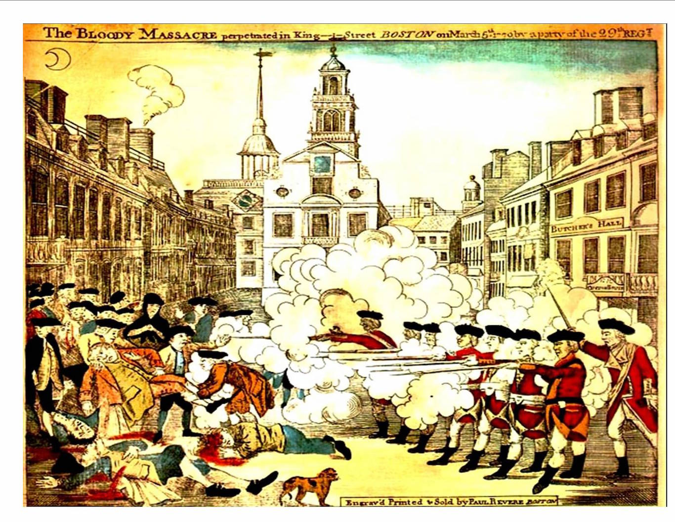 time machine the boston massacre