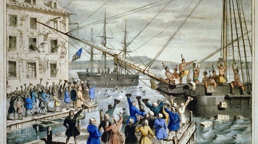 a study of the boston tea party There was a second boston tea party three months after the boston tea party, bostonians once again sent tea splashing when 60 disguised men boarded the fortune in march 1774, forced the crew .