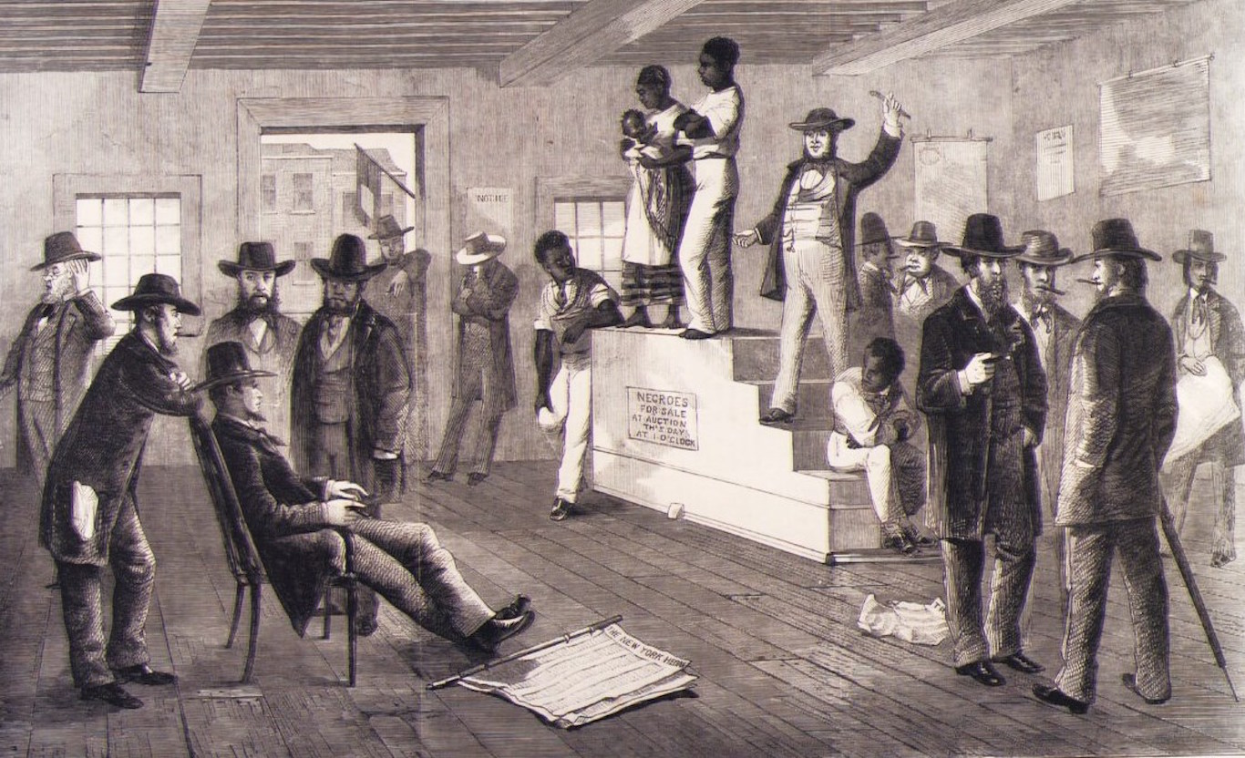 Newsela | Time Machine (1846): A slave auction in New Orleans