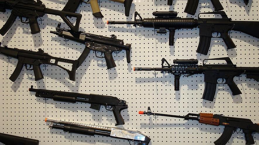 Toy guns in Massachussets.