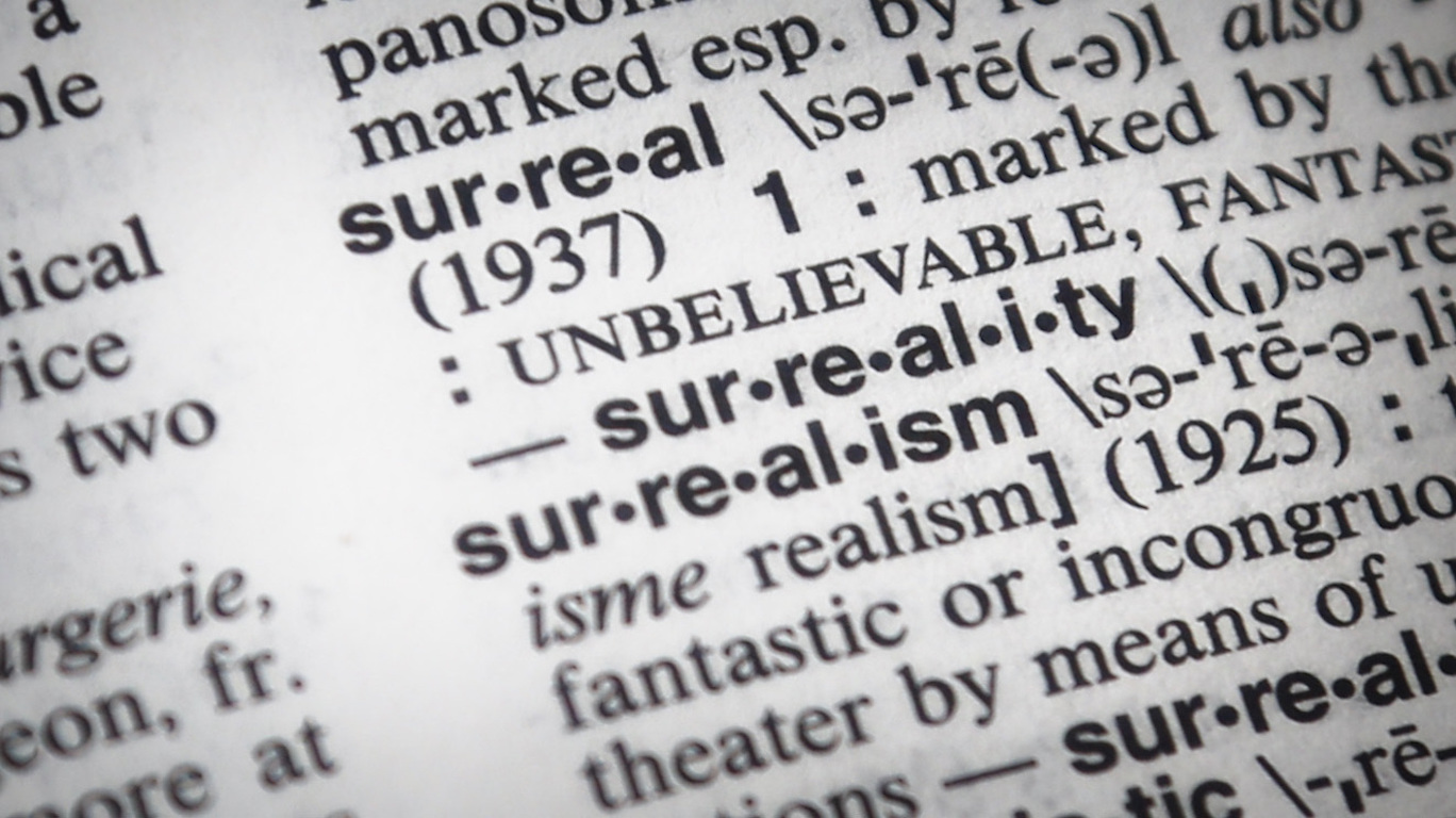 merriam webster decides that 2016 was a surreal year