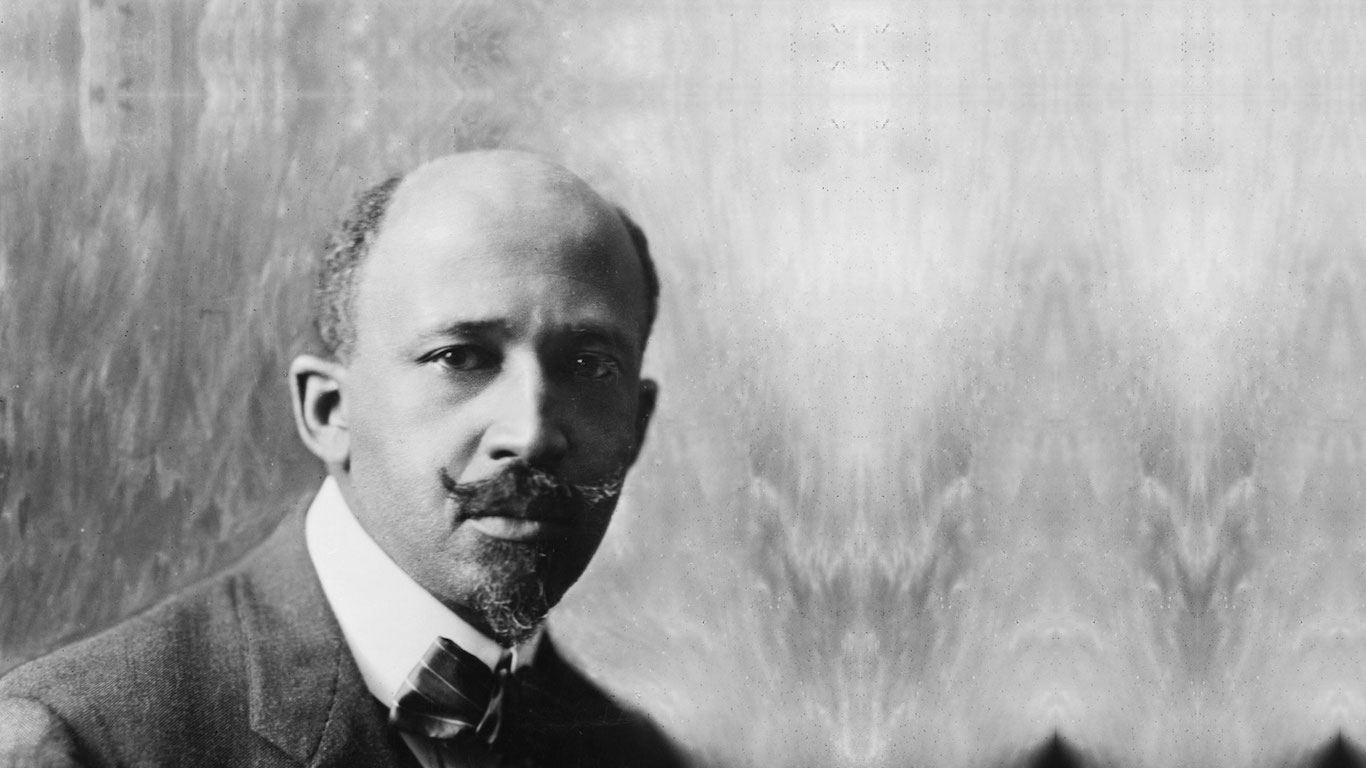 civil rights activists w e b du bois