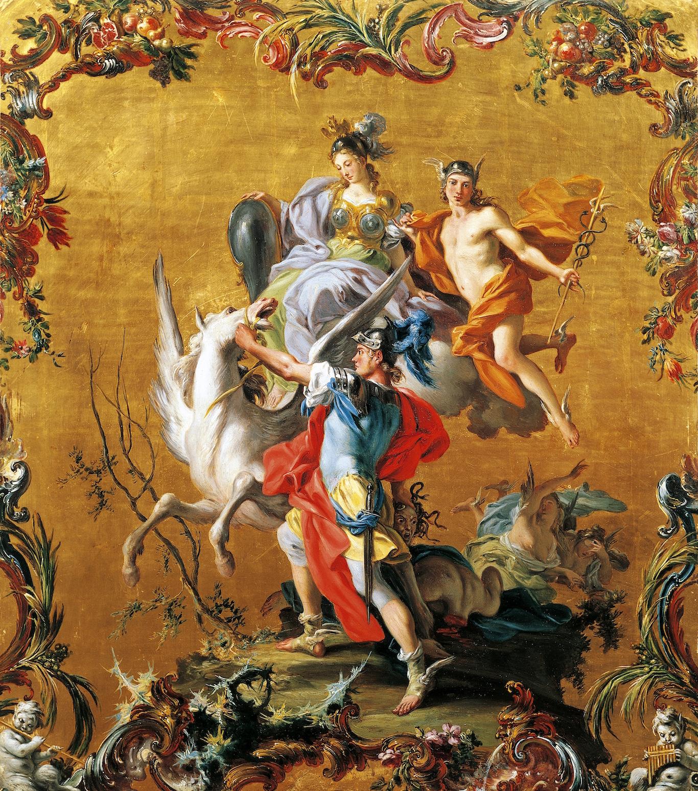 Newsela | Myths and Legends: Pegasus helps Bellerophon ...