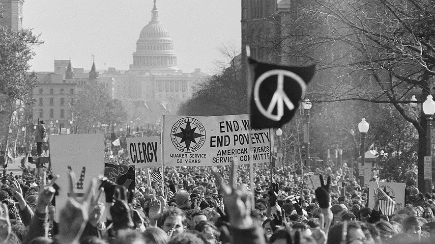 an overview of the series of youth protest of the vietnam war