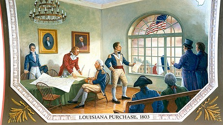 Top The Third Signing Of The Louisiana Treaty Which Occurred In New Orleans