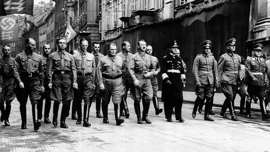 an introduction to hitlers nazi party This allows hitler to ban the catholic zentrum (centre) party without opposition from the catholic church 14 july 1933 all political parties, except the nazi party, are banned.