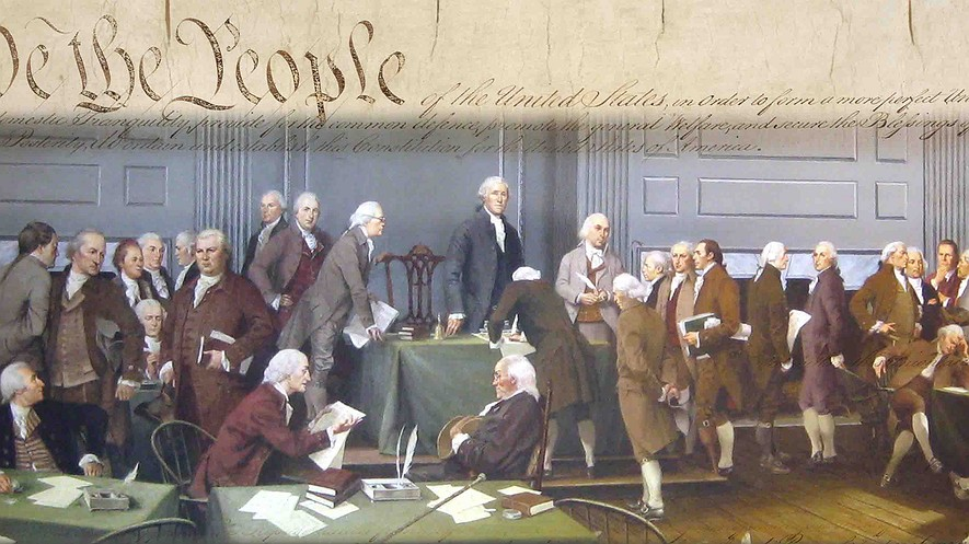 a study on the us constitution federalists and anti federalists On september 14, 1787, the delegates to the constitutional convention got a   but the anti-federalists were far from obstructionist cavemen.