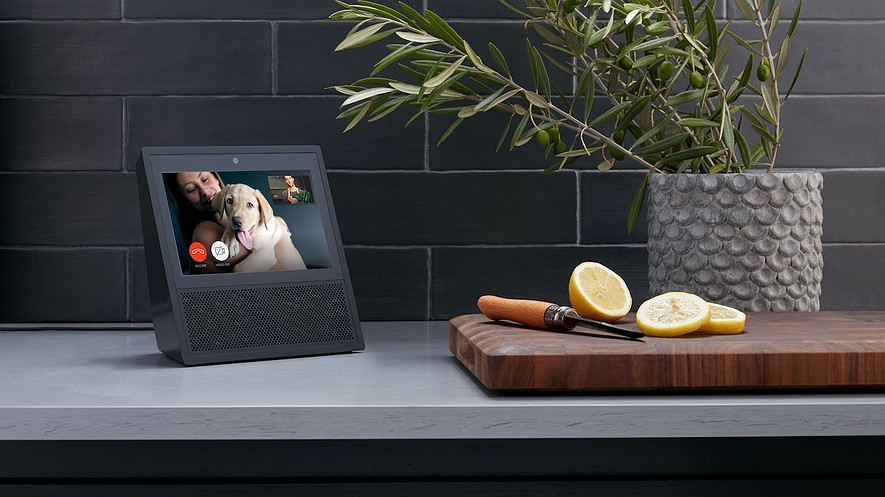 Amazon has unveiled a new Echo product, a touchscreen device called the Echo Show. It is available to pre-order from Amazon and costs $299.99. Photo by: Amazon