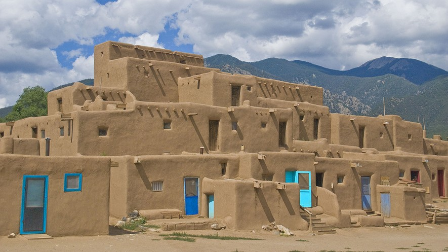 Newsela native american cultures the southwest for How to build a model pueblo house