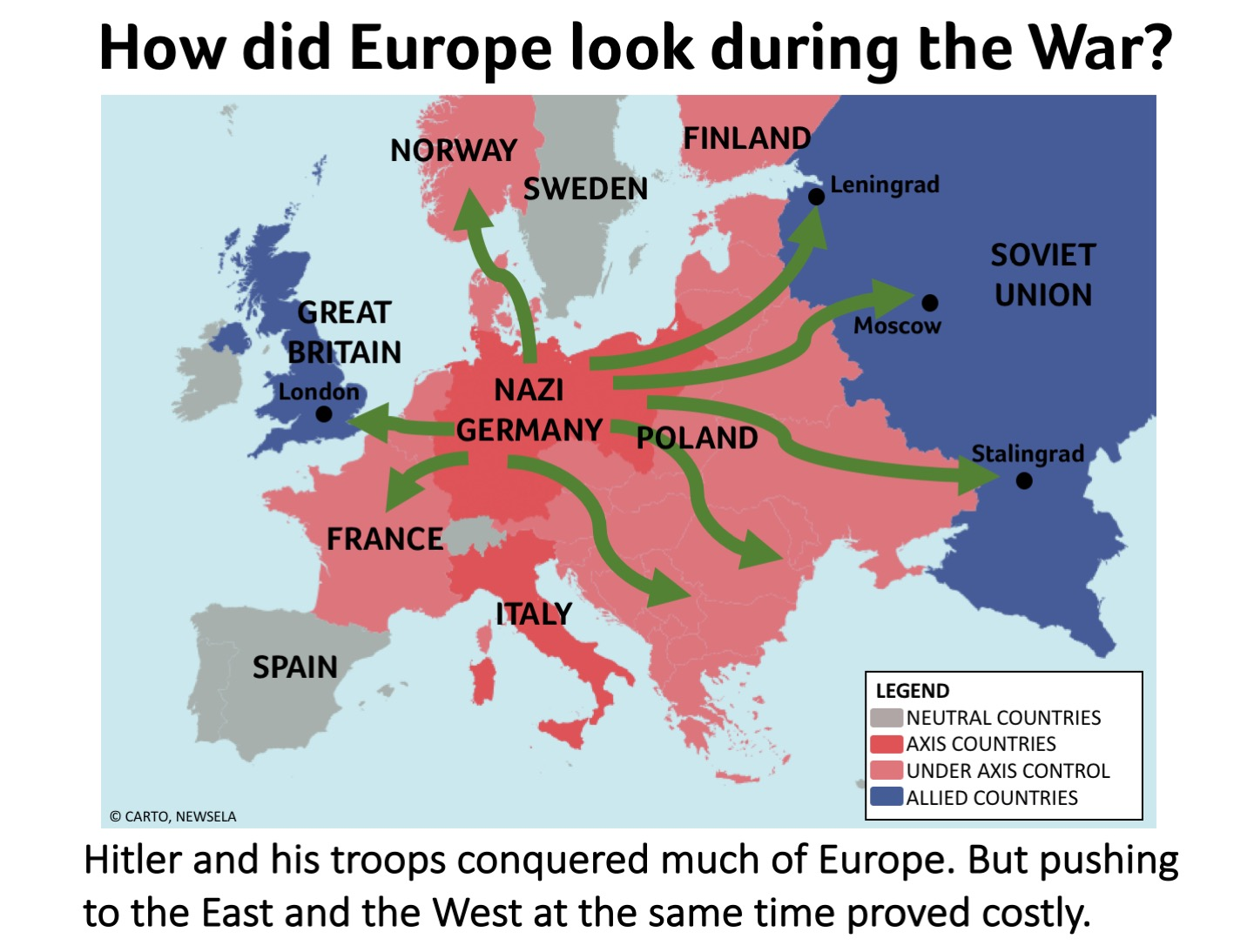 wwi wwii and the cold war Wwii set the stage for the cold war between america and the soviet union in several ways one way was the soviet occupation of eastern europe.