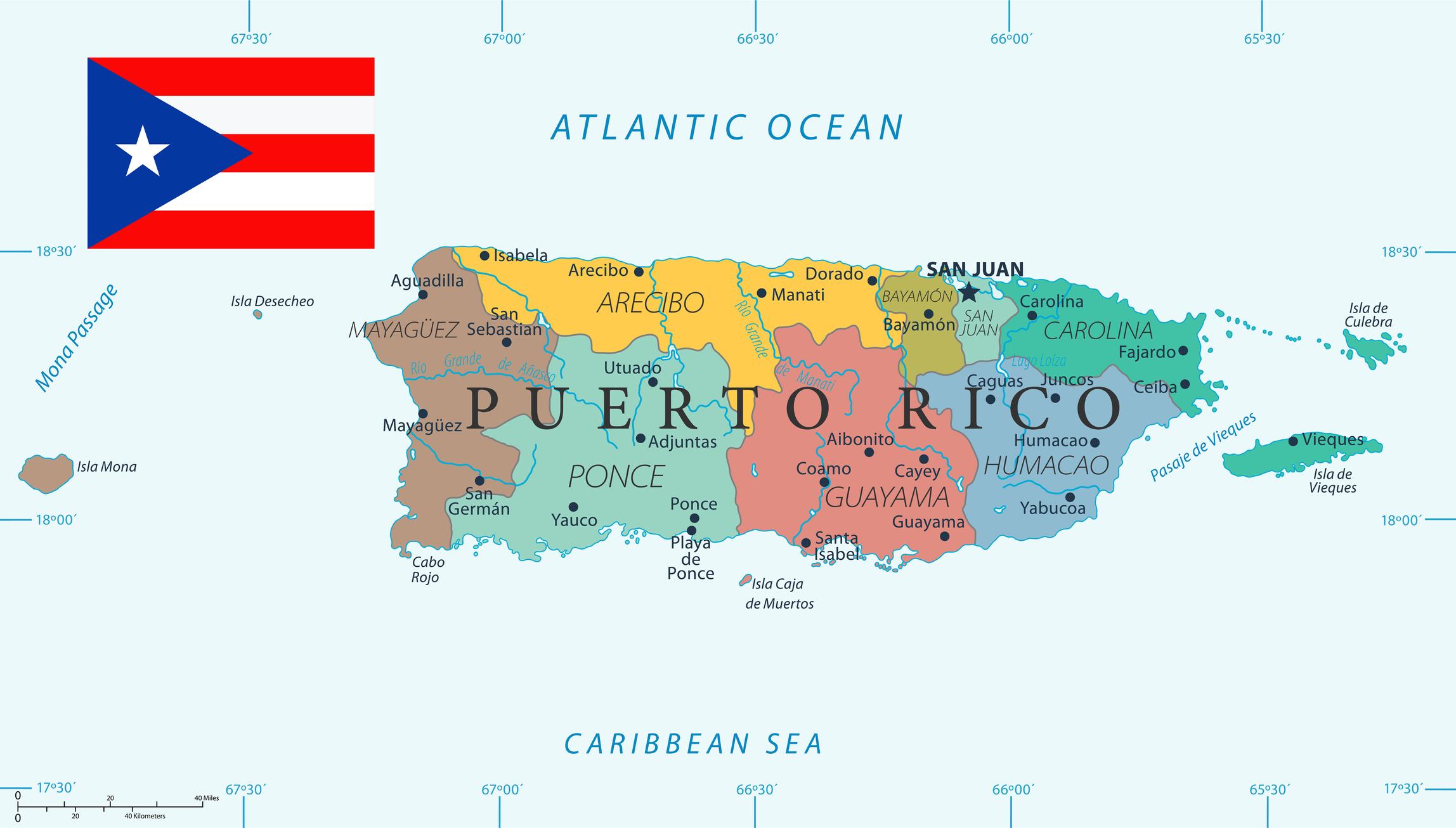 Newsela | Puerto Rico, in maps