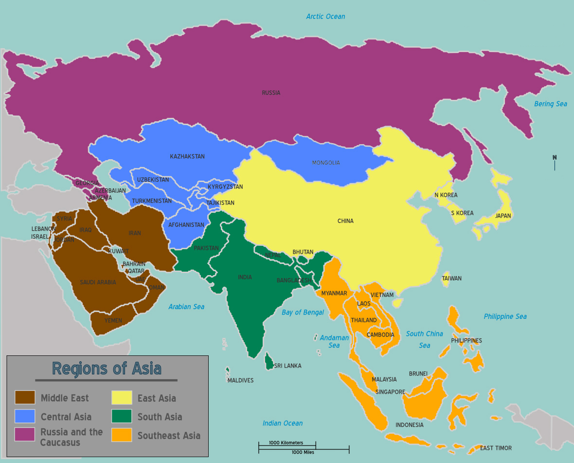 Newsela asia human geography map wikimedia click to expand gumiabroncs Images