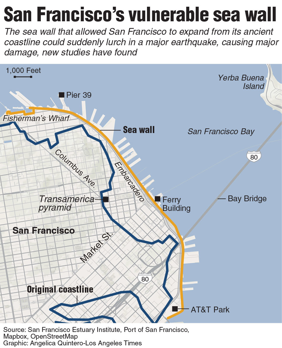 Newsela  SF Embarcadero could be devasted by quake that damages