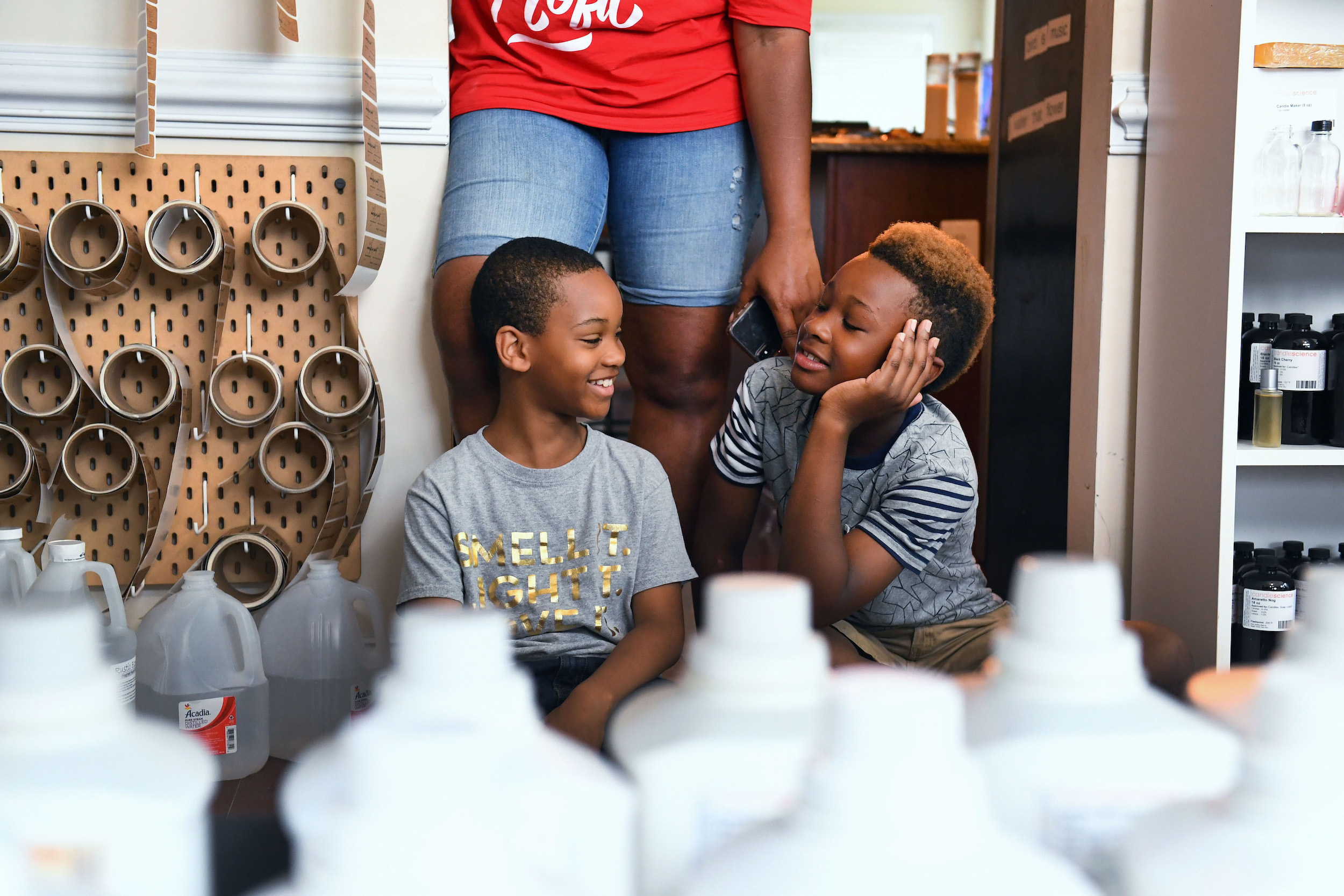 Newsela - Three young brothers start a candle company with charity
