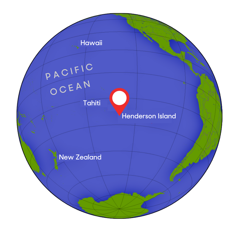 Newsela tiny pacific island has no humans but gets much of worlds henderson island is a remote uninhabited island in the pacific ocean map wikimedia gumiabroncs Images