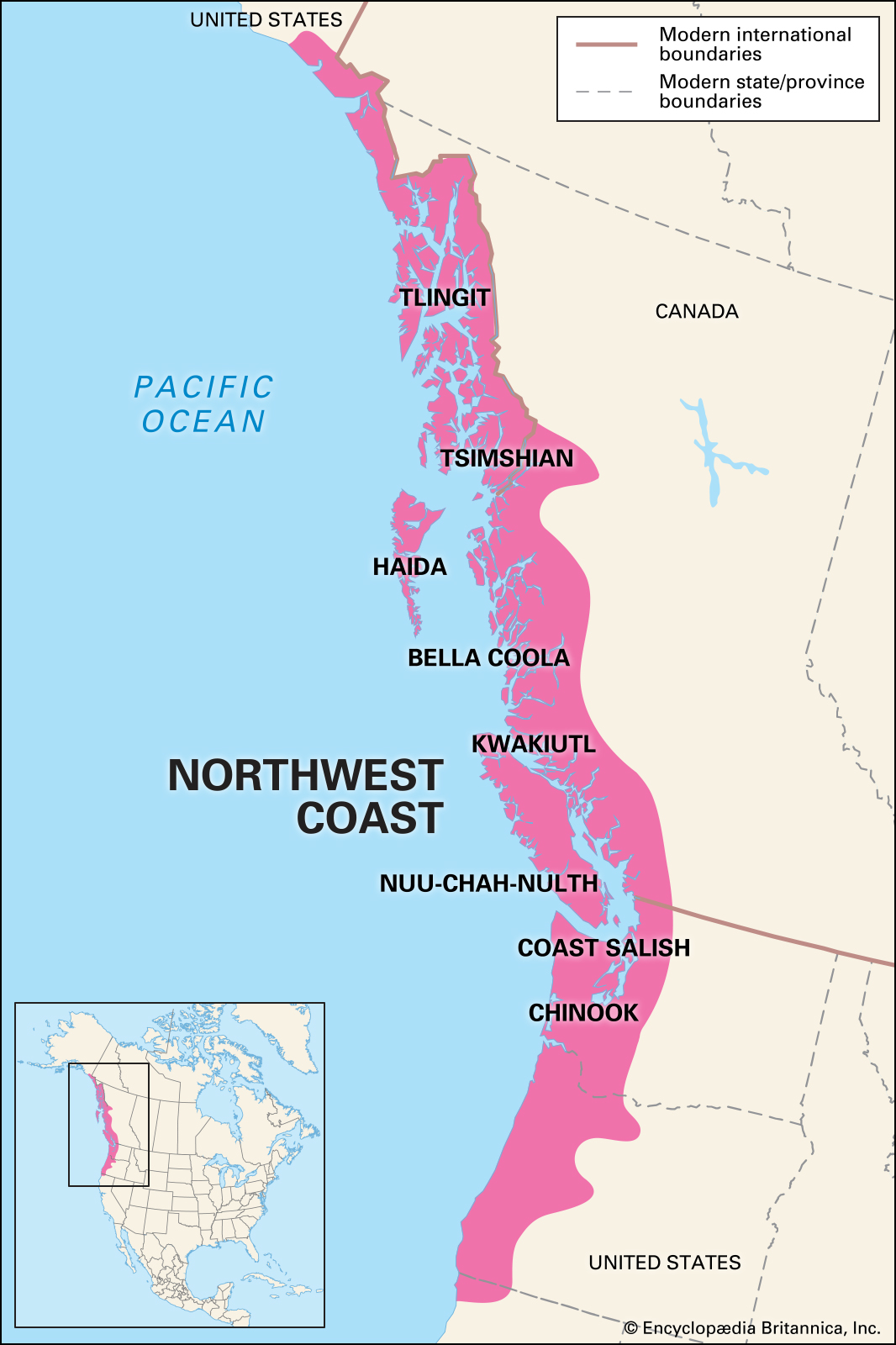 Newsela Native American Cultures The Northwest Coast