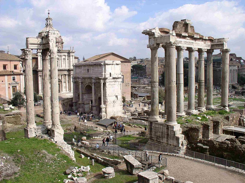great cities rome wasn t planned in a day in fact  ancient rome buried under parts that came later