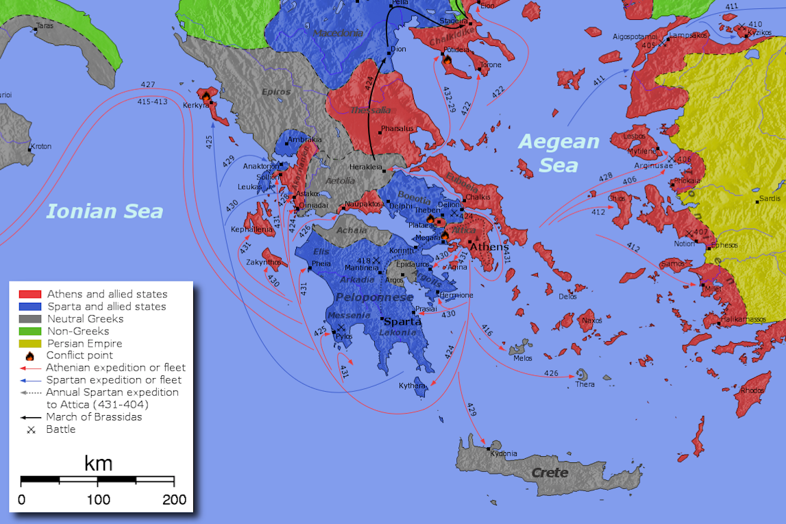 greece after the peloponnesian war The first peloponnesian war in greece started when corfu asked athens for help in its conflict with the city of corinth.